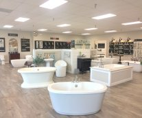 BR Supply showroom plumbing tubs showers faucets toilets brizo maax